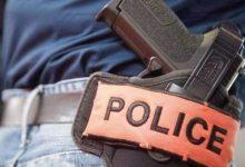 un policier contraint d'utiliser son arme de service